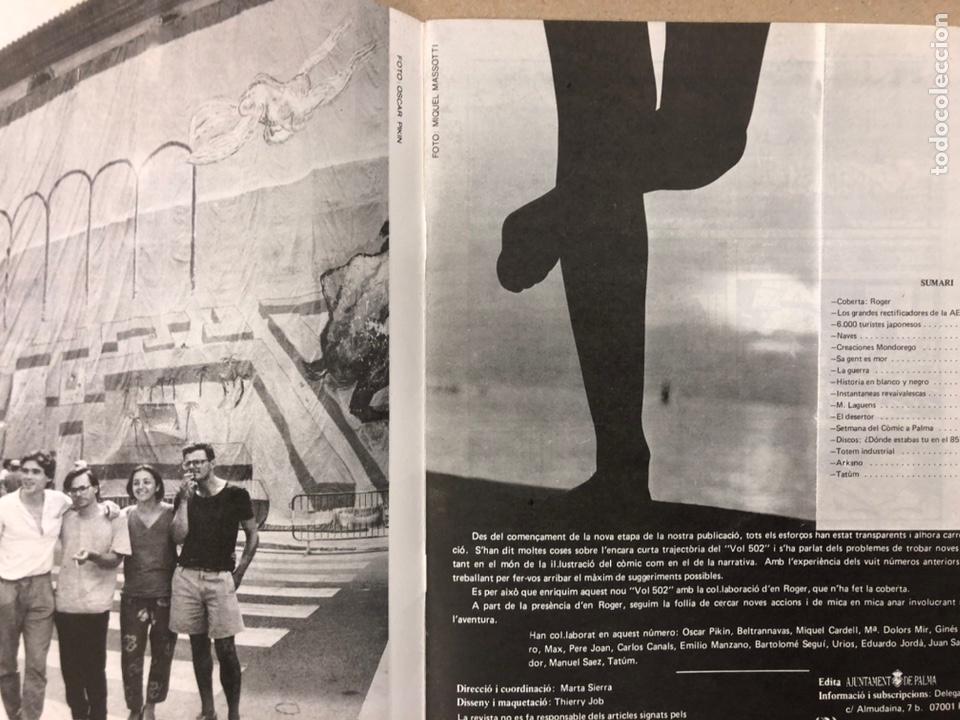 Cómics: VOL 502 N° 9 (PALMA 1985). HISTÓRICO FANZINE ORIGINAL. VV.AA. ROGER, PERE JOAN, MAX, SEGUÍ,... - Foto 2 - 216512651