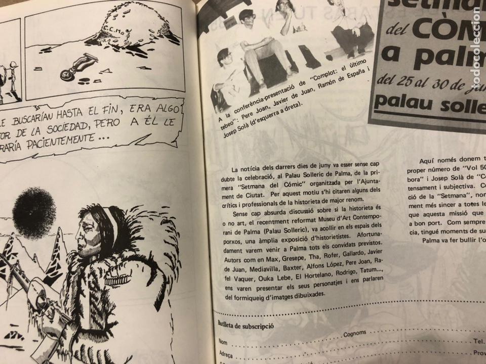 Cómics: VOL 502 N° 9 (PALMA 1985). HISTÓRICO FANZINE ORIGINAL. VV.AA. ROGER, PERE JOAN, MAX, SEGUÍ,... - Foto 9 - 216512651