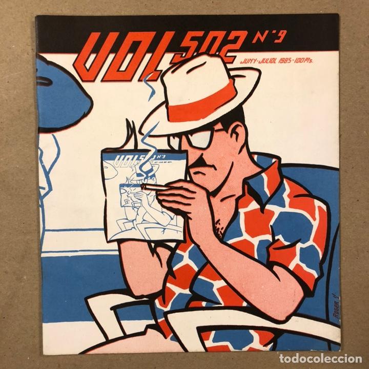 VOL 502 N° 9 (PALMA 1985). HISTÓRICO FANZINE ORIGINAL. VV.AA. ROGER, PERE JOAN, MAX, SEGUÍ,... (Tebeos y Comics Pendientes de Clasificar)