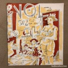 Cómics: VOL 502 Nº 10 (PALMA 1984). HISTÓRICO FANZINE ORIGINAL. Ñ CEESEPE, ONLIYU, LA FURA,.... Lote 216512833