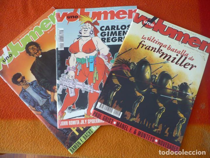 VOLUMEN UNO NºS 2, 6 Y 8 ¡BUEN ESTADO! GUIA MENSUAL DEL COMIC 300 MILLER CARLOS GIMENEZ PREDICADOR (Tebeos y Comics - Comics otras Editoriales Actuales)