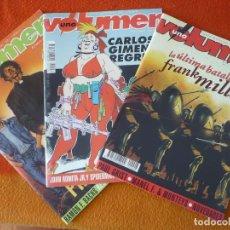 Cómics: VOLUMEN UNO NºS 2, 6 Y 8 ¡BUEN ESTADO! GUIA MENSUAL DEL COMIC 300 MILLER CARLOS GIMENEZ PREDICADOR. Lote 216643293