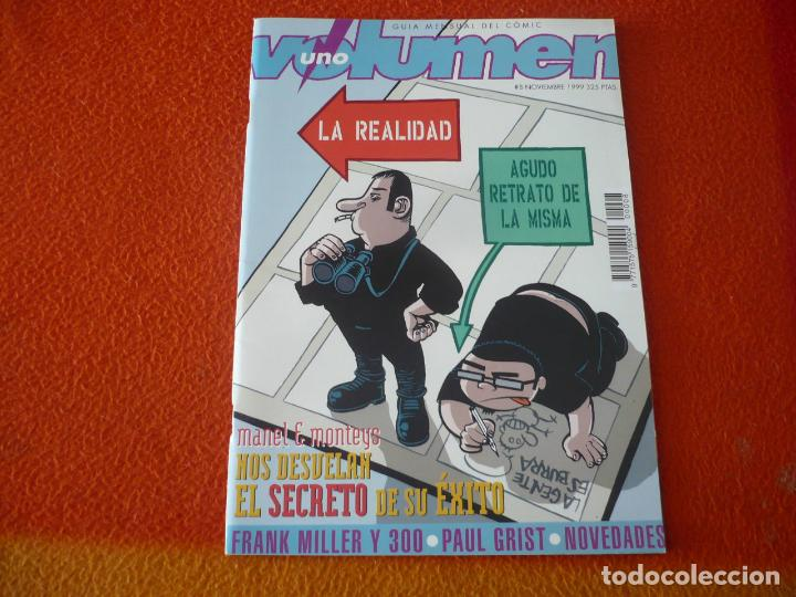 VOLUMEN UNO Nº 8 ¡BUEN ESTADO! GUIA MENSUAL DEL COMIC 300 MILLER 1999 (Tebeos y Comics - Comics otras Editoriales Actuales)
