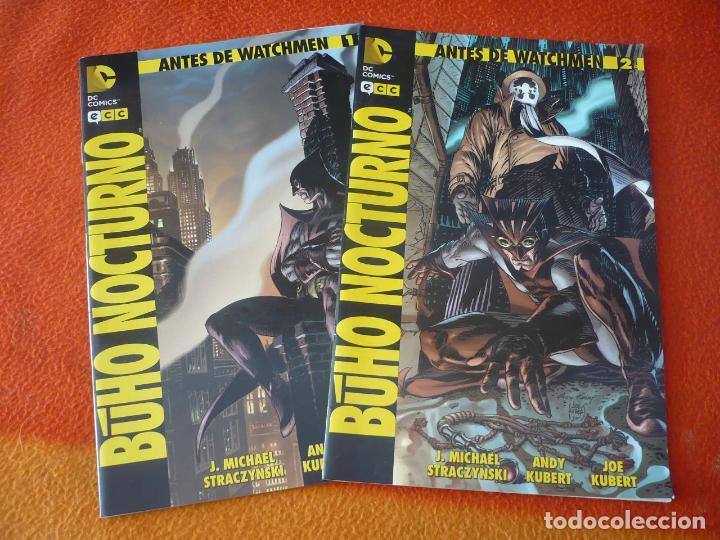 BUHO NOCTURNO 1 Y 2 ANTES DE WATCHMEN ( STRACZYNSKI KUBERT ) ¡MUY BUEN ESTADO! DC ECC (Tebeos y Comics - Comics otras Editoriales Actuales)