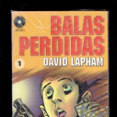 Cómics: 15 TOMOS BALAS PERDIDAS POR DAVID LAPHAM EDICIONES LA CUPULA 2003. Lote 216775866