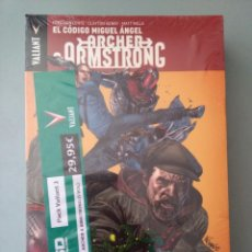 Cómics: ARCHER ARMSTRONG-PACK VALIANT-5 VOLUMENES #. Lote 216838826