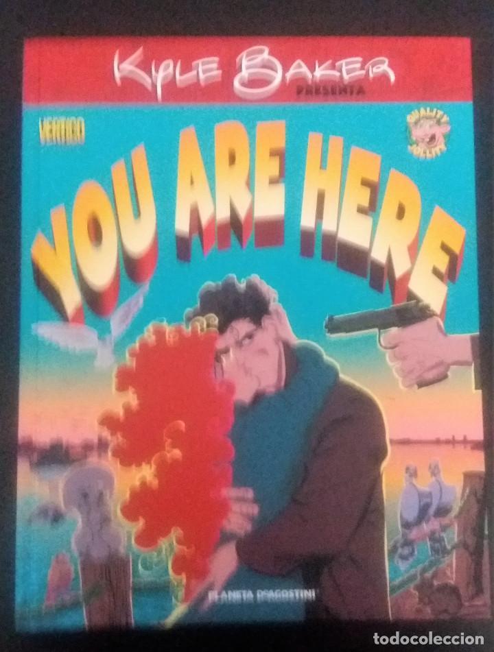 YOU ARE HERE DE KYLE BAKER (Tebeos y Comics Pendientes de Clasificar)