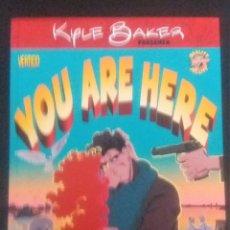 Cómics: YOU ARE HERE DE KYLE BAKER. Lote 216877692
