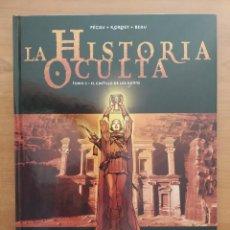 Comics : LA HISTORIA OCULTA. EL CASTILLO DE LOS DJINNS. TOMO 2. PECAV. KORDEY. BEAU. EDICIONES GLENAT.. Lote 216902838