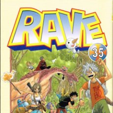 Comics : RAVE VOL. 35,MANGA.NORMA EDITORIAL,(PROCEDE DE BIBLIOTECA),. Lote 216939622