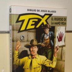 Cómics: *** PRECIO NETO *** TEX EL REGRESO DE LA MANO ROJA - ALETA OFERTA (ANTES 14,95 EU.). Lote 236501255