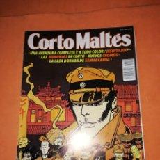 Cómics: CORTO MALTES. REVISTA Nº 9 . EDITORIAL ROBERTO ROCCA. CON SUS CROMOS Y SUPLEMENTO 1990. Lote 217032572