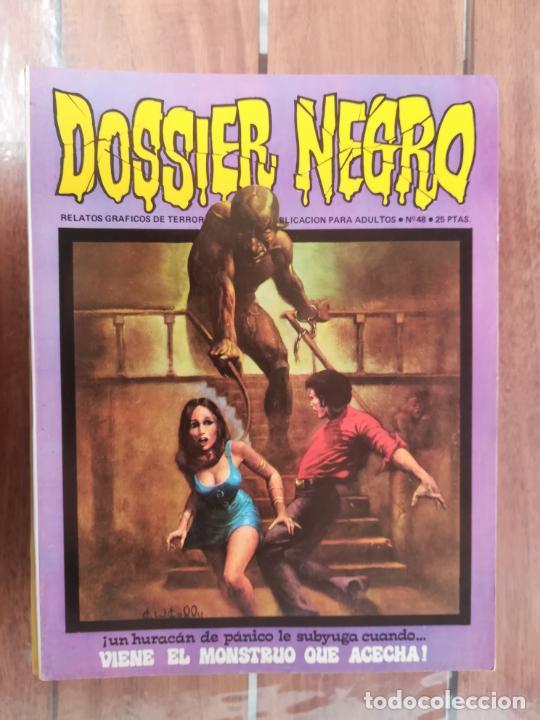 DOSSIER NEGRO. Nº 48. IBERO MUNDIAL (Tebeos y Comics - Comics otras Editoriales Actuales)