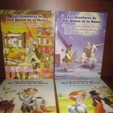 Cómics: 4 CUENTOS ILUSTRADOS EN VALENCIANO, DON QUIJOTE, 2005 - LOTE COMPLETO -. Lote 217291992