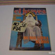 Cómics: EL JUEVES. LA REVISTA QUE SALE LOS VIERNES. CUESTA DE ENERO: NO SE FÍA. 13 DE ENERO DE 1978. Lote 217710061