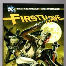 Cómics: FIRST WAVE : DOC SAVAGE / BATMAN / THE SPIRIT - ECC / DC / TAPA DURA / AZZARELLO & MORALES. Lote 217718168