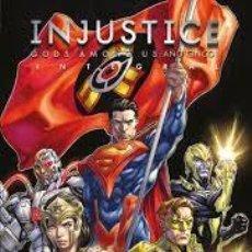 Cómics: INJUSTICE GODS AMONG US AÑO CINCO INTEGRAL - ECC - CARTONE - IMPECABLE - OFI15F. Lote 217762070