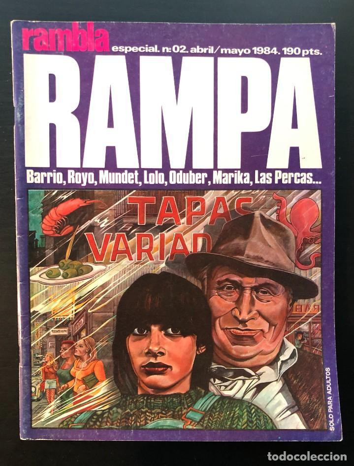 RAMPA RAMBLA ESPECIAL Nº 2 BARRIO, ROYO, MUNDET, LOLO, ODUBER, MARIKA, LAS PERCAS (Tebeos y Comics - Comics otras Editoriales Actuales)