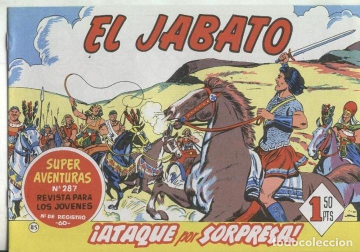 EL JABATO FACSIMIL NUMERO 085: ATAQUE POR SORPRESA (Tebeos y Comics Pendientes de Clasificar)