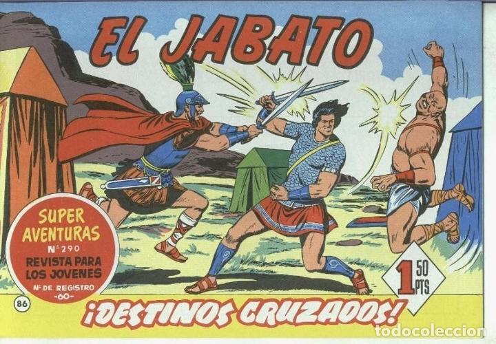 EL JABATO FACSIMIL NUMERO 086: DESTINOS CRUZADOS (Tebeos y Comics Pendientes de Clasificar)
