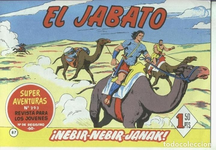 EL JABATO FACSIMIL NUMERO 087:NEBIR-NEBIR-JANAK (Tebeos y Comics Pendientes de Clasificar)