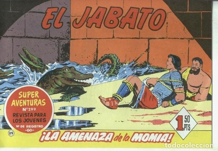 EL JABATO FACSIMIL NUMERO 089: LA AMENAZA DE LA MOMIA (Tebeos y Comics Pendientes de Clasificar)