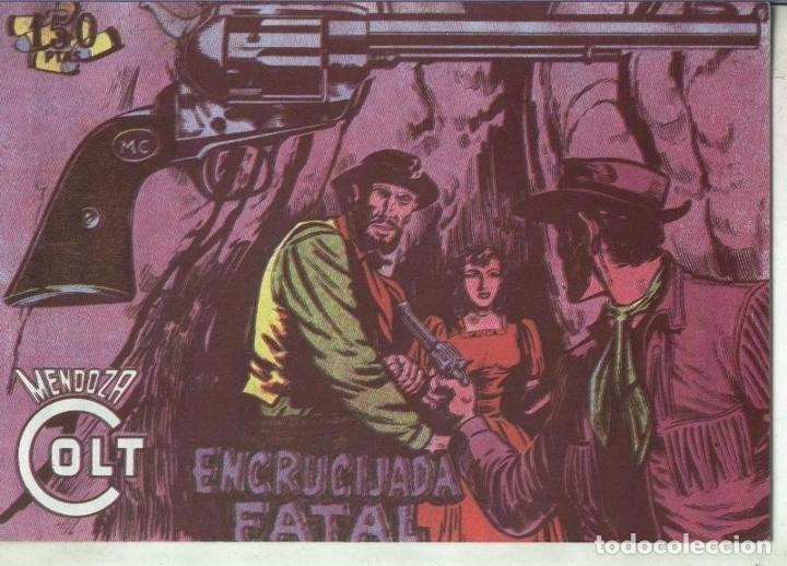 MENDOZA COLT FACSIMIL NUMERO 085: ENCRUCIJADA FATAL (Tebeos y Comics Pendientes de Clasificar)