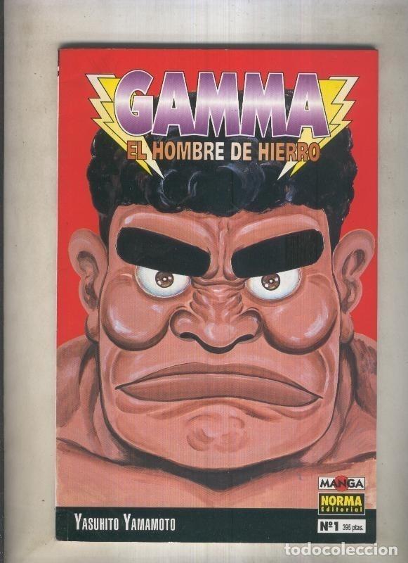 GAMMA EL HOMBRE DE HIERRO NUMERO 01 (NUMERADO 3 EN INTERIOR CUBIERTA) (Tebeos y Comics Pendientes de Clasificar)