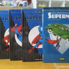 Fumetti: LOS ARCHIVOS DE SUPERMAN / ACTION COMICS / 5 TOMOS / COMPLETA /. Lote 218092463