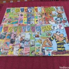 Cómics: COMIC FUERA BORDA SEMANAL (LUCKY LUKE, ISNOGUD,LOS PITUFOS, GARFIELD,PAPYRUS,TOMAS EL GAFE, BOBO. Lote 218145972