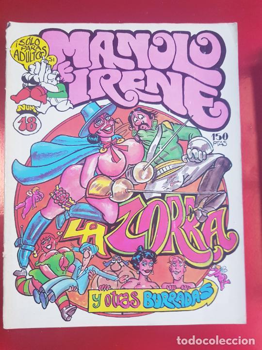 Cómics: LOTE COMICS-MANOLO E IRENE-23 FASCÍCULOS-VER NÚMEROS Y FOTOS. - Foto 6 - 218146372
