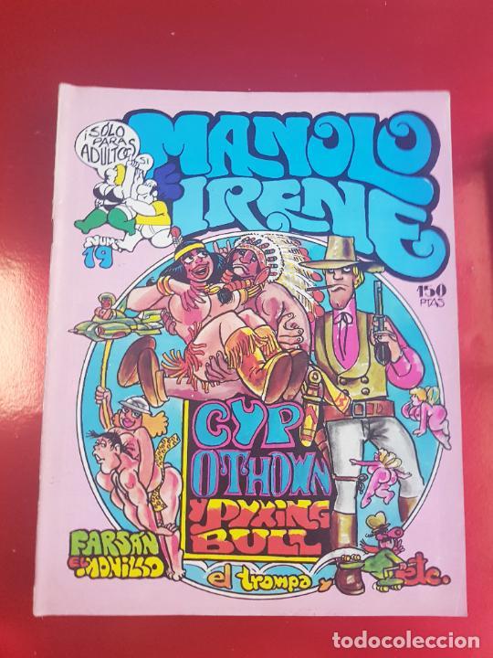 Cómics: LOTE COMICS-MANOLO E IRENE-23 FASCÍCULOS-VER NÚMEROS Y FOTOS. - Foto 7 - 218146372