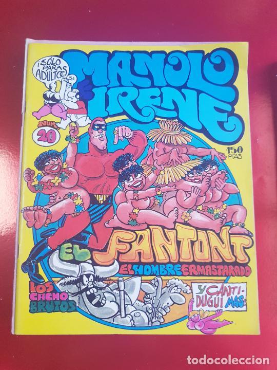 Cómics: LOTE COMICS-MANOLO E IRENE-23 FASCÍCULOS-VER NÚMEROS Y FOTOS. - Foto 8 - 218146372