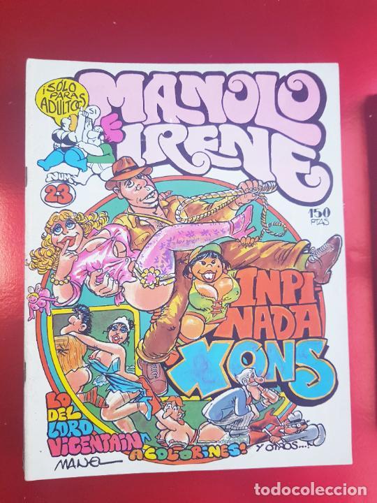 Cómics: LOTE COMICS-MANOLO E IRENE-23 FASCÍCULOS-VER NÚMEROS Y FOTOS. - Foto 11 - 218146372