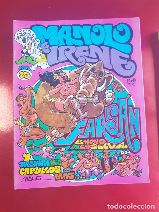 Cómics: LOTE COMICS-MANOLO E IRENE-23 FASCÍCULOS-VER NÚMEROS Y FOTOS. - Foto 14 - 218146372