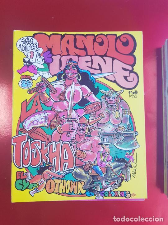 Cómics: LOTE COMICS-MANOLO E IRENE-23 FASCÍCULOS-VER NÚMEROS Y FOTOS. - Foto 15 - 218146372