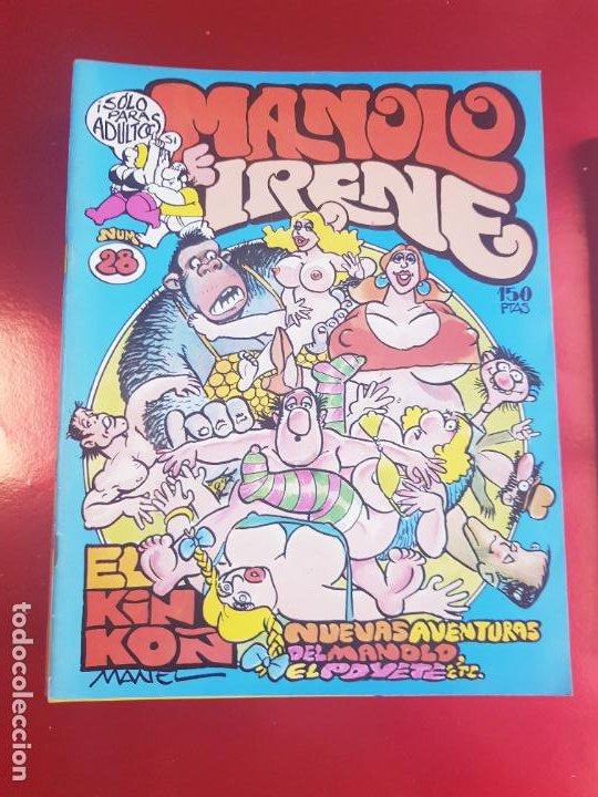 Cómics: LOTE COMICS-MANOLO E IRENE-23 FASCÍCULOS-VER NÚMEROS Y FOTOS. - Foto 18 - 218146372