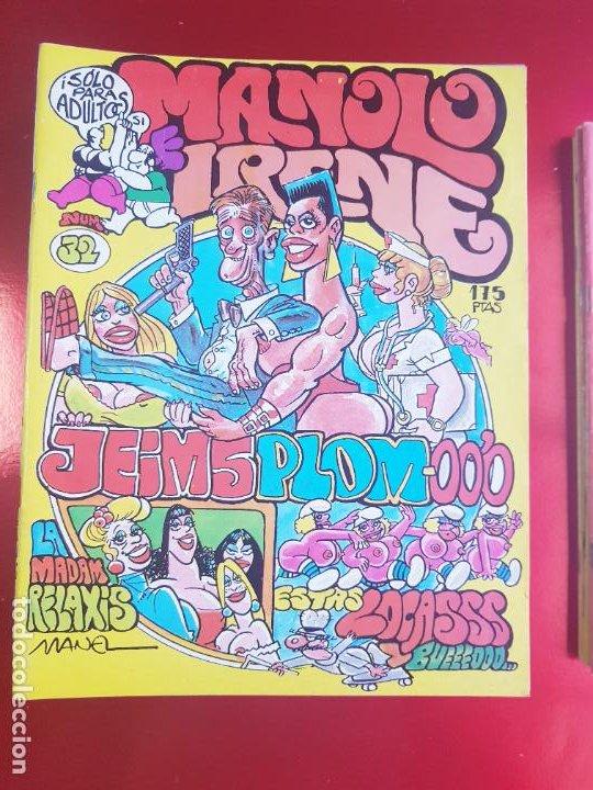 Cómics: LOTE COMICS-MANOLO E IRENE-23 FASCÍCULOS-VER NÚMEROS Y FOTOS. - Foto 22 - 218146372