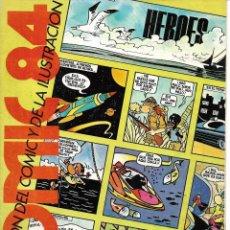 Cómics: REVISTA DEL 4º SALÓN DEL CÓMIC Y LA ILUSTRACIÓN DE BARCELONA. 1984. Lote 218184503