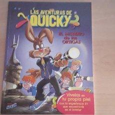 Cómics: 11-00594 -COMIC LAS AVENTURAS DE QUICKY- EL MISTERIO DE LAS ORTIGAS. Lote 218188540