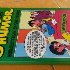 Cómics: GALERIAS DEL HUMOR 4, MORTADELO, ZIPI Y ZAPE, PULGARCITO X305. Lote 218262157