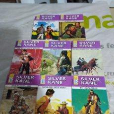 Cómics: LOTE DE 8 NOVELAS SILVER KANE,NUEVAS.. Lote 218269517