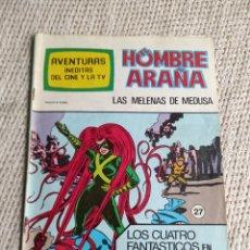 Cómics: AVENTURAS INÉDITAS DEL CINE Y LA TV Nº 27 EL HOMBRE ARAÑA - SPIDERMAN. Lote 218270612