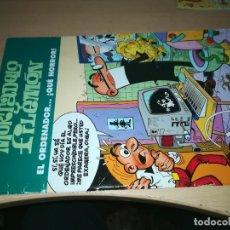 Cómics: MORTADELO Y FILEMON - EL ORDENADOR QUE HORROR - EDICIONES B Y 305. Lote 218280227
