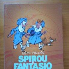 Cómics: SPIROU Y FANTASIO INTEGRAL Nº 12 - 1980 - 1983 - NIC, CAUVIN - DIBBUKS - TAPA DURA (CC). Lote 218377453