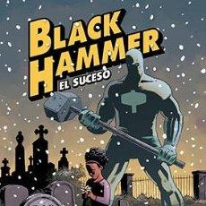 Cómics: CÓMICS. BLACK HAMMER 02. EL SUCESO - DAVID RUBIN/JEFF LEMIRE/DEAN ORMSTON (CARTONÉ). Lote 218448187
