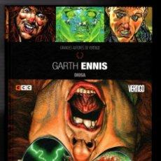 Cómics: DIOSA / GRANDES AUTORES DE VERTIGO : GARTH ENNIS - ECC / DC / TAPA DURA. Lote 218480251