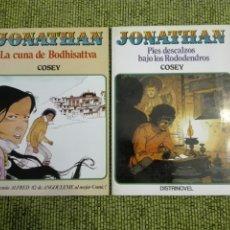 Cómics: JONATHAN - COSEY - 1 Y 2 - PIES DESCALZOS BAJO LOS RODODRENDOS Y LA CUNA DE BODHISATTVA. Lote 218499642