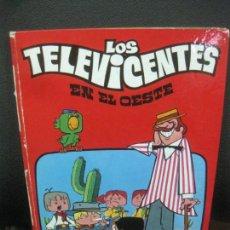 Cómics: LOS TELEVICENTES EN EL OESTE. FHER 1976.. Lote 218593310