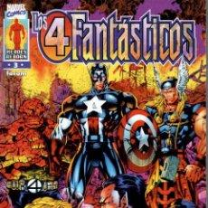 Cómics: LOS 4 FANTÁSTICOS V2 (HEROES REBORN) FORUM 1997. Nº 3. Lote 218657861
